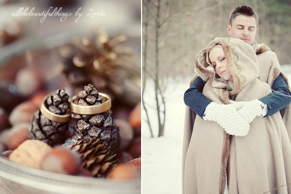Šiltos vestuvės žiemą