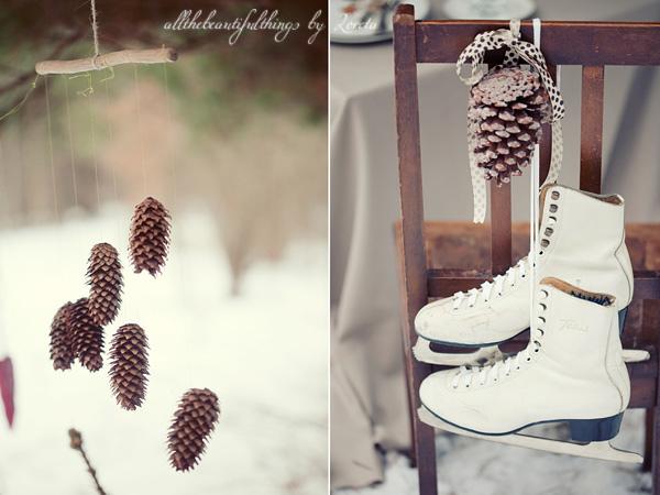 Vestuvių fotosesija žiemą