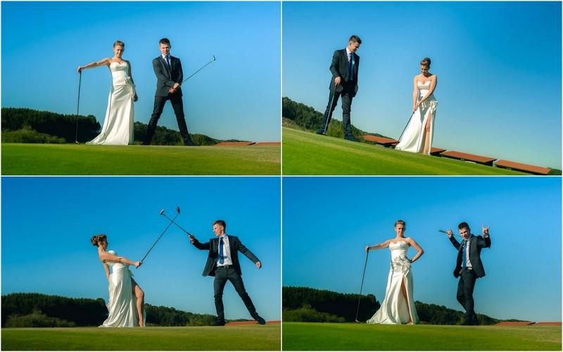 Vestuvės golfo laukuose