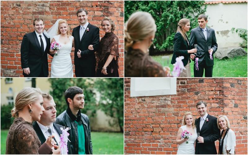 Vestuvių nuotraukos su svečiais