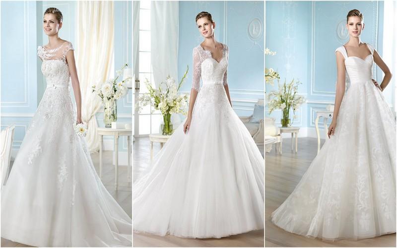 Vestuvinė suknelė pagal figūros tipą
