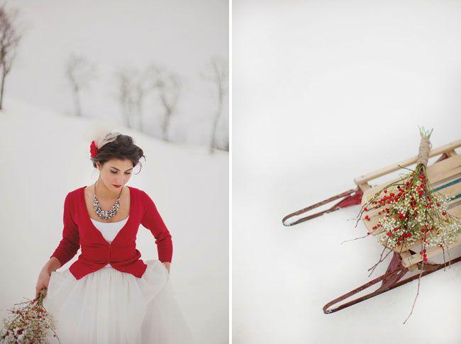 vestuvės žiemą