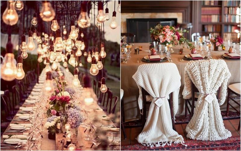 Jaukių vestuvių dekoravimas