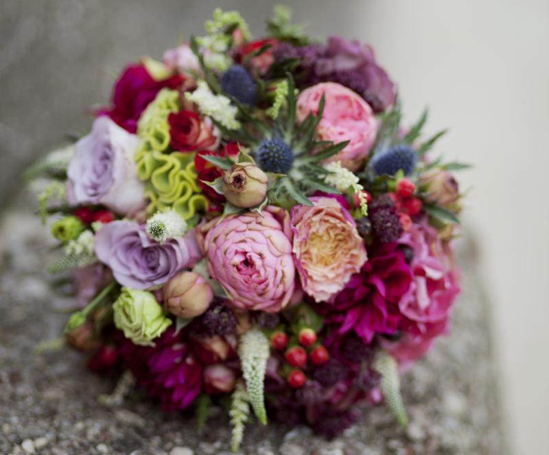 Vestuvinės puokštės ir gėlės