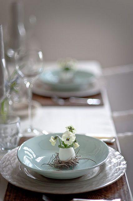 Velykų stalo dekoravimas