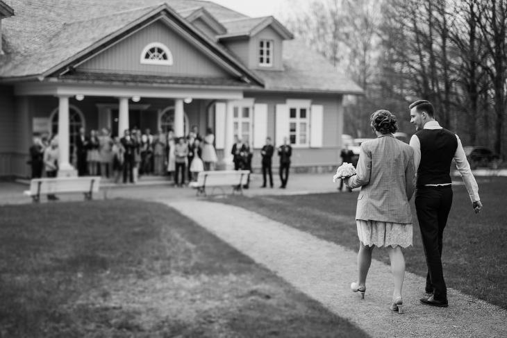 Retro vestuvės Vyšnių dvare