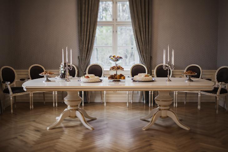 Saldaus stalo dekoravimas