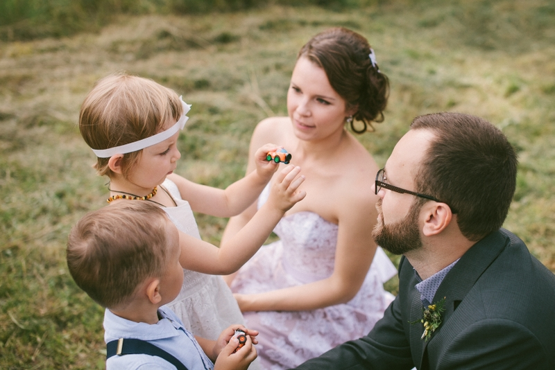 Vaikai vestuvėse