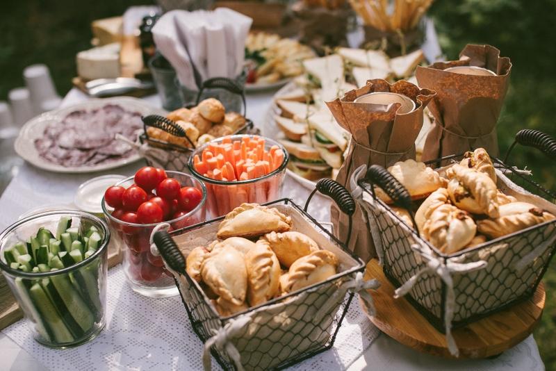 Vestuvių vaišės, vestuvių maistas