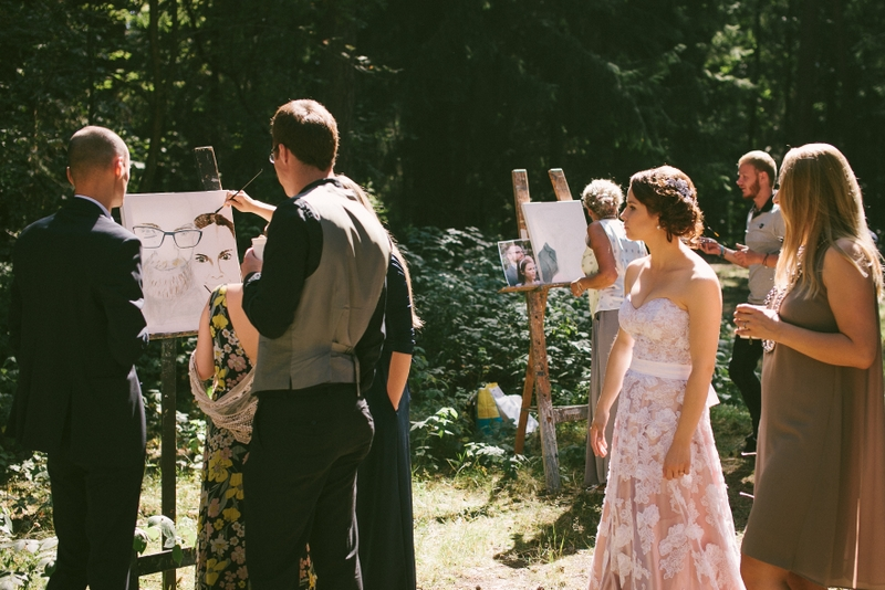 Vestuvės miške
