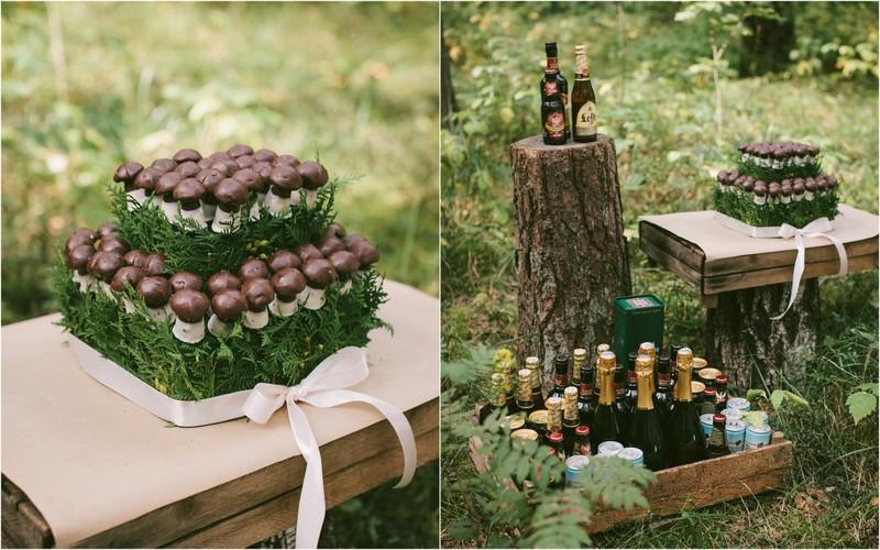 Netradicinis vestuvinis tortas