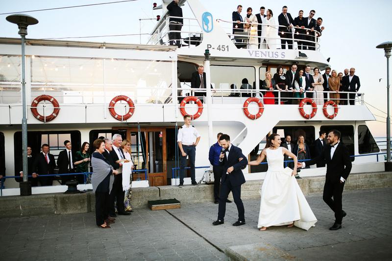 Vestuvės laive