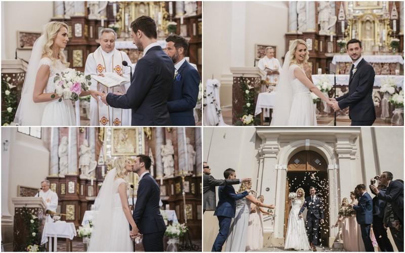 Vestuvįs Trakuose bažnyčioje