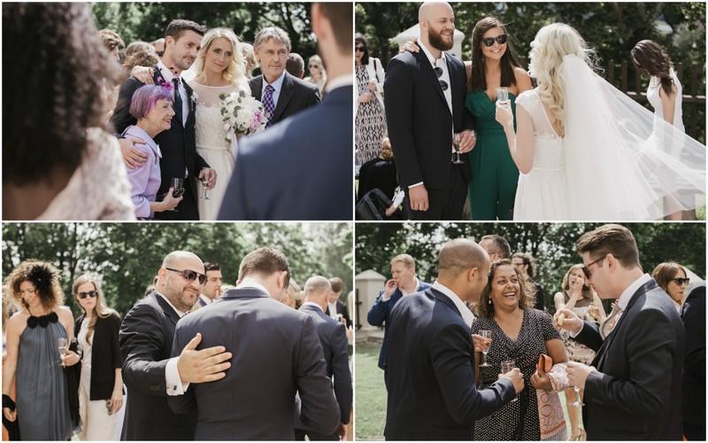 Vestuvių akimirkos