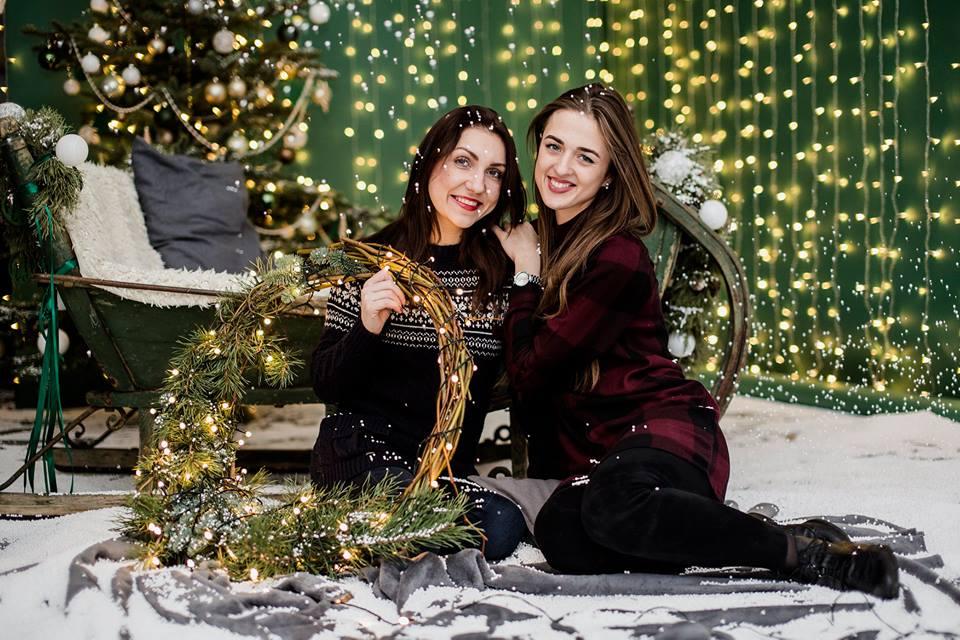 Kalėdinė paramos fotosesija Klaipėdoje