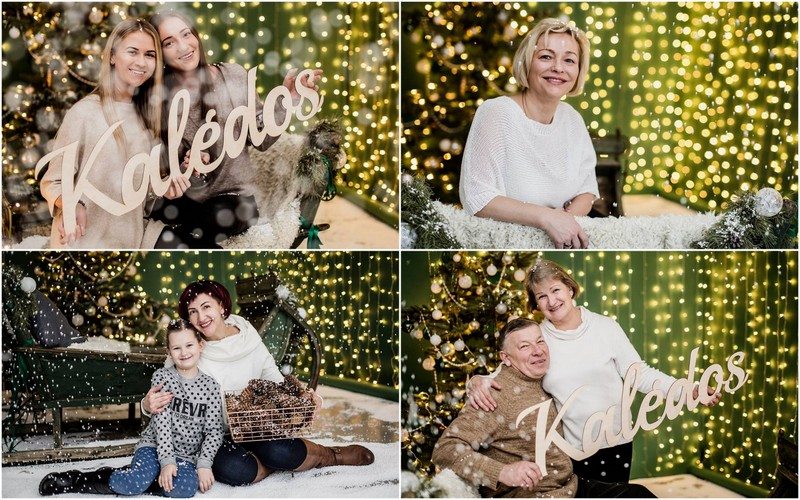Labdaringa Kalėdinė paramos fotosesija