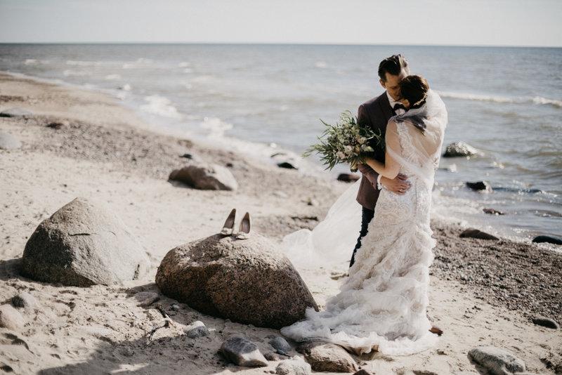 Vestuvių planavimas prie jūros