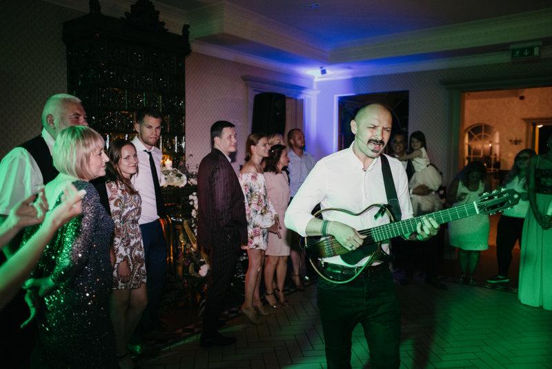 Jurgis Didžiulis vestuvėse
