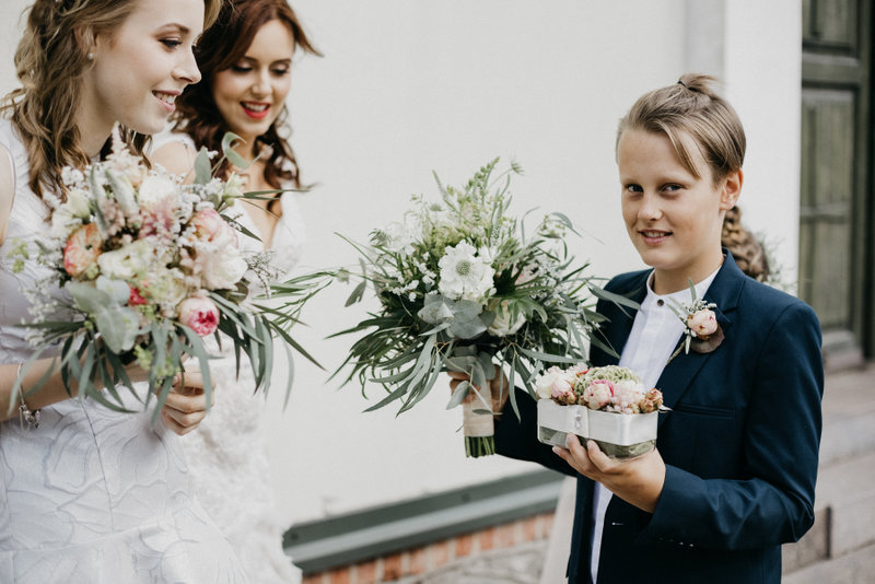 vestuvinės puokštės