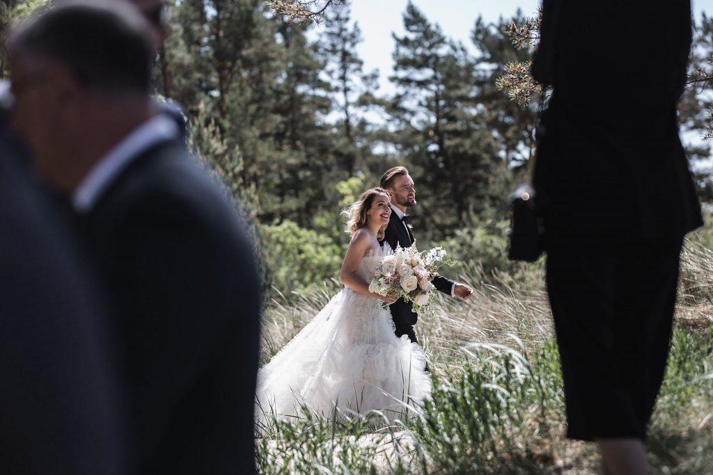 Vestuvės kopose