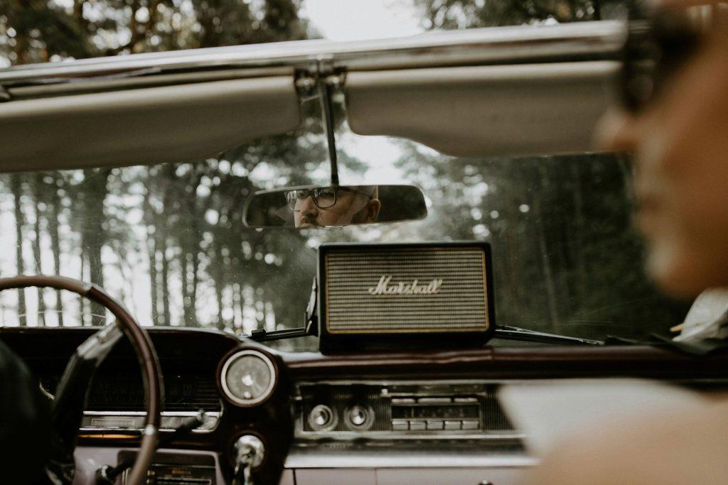 Stilingas vestuvių automobilis