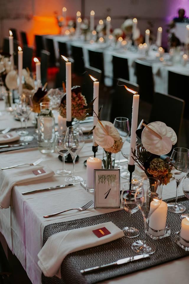 vestuvinių stalų dekoravimas