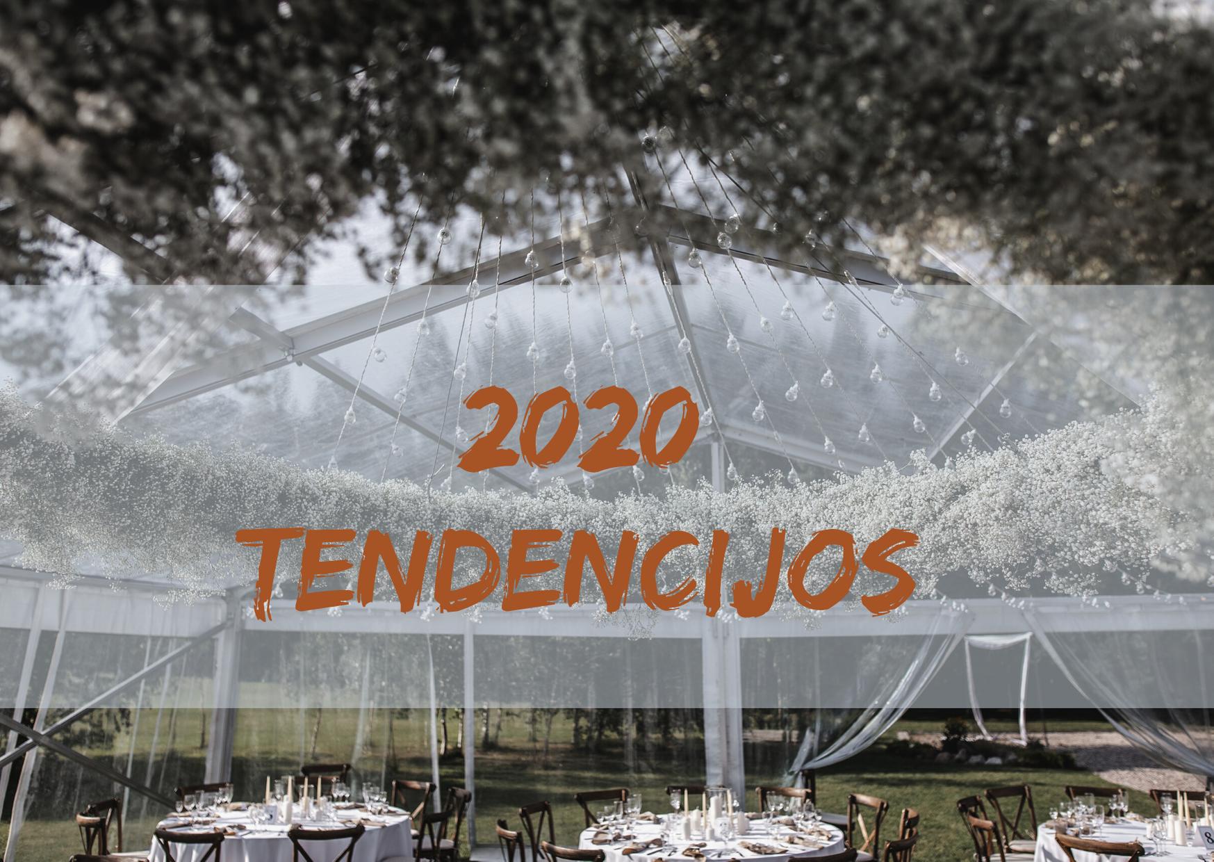 Vestuvių tendencijos 2020 metams