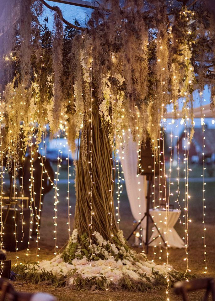 Liudvikų vestuvių dekoras