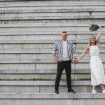 Urbanistinės vestuvės Klaipėdoje
